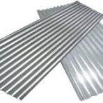 Sheet metal roof (2 sheets for repairs)